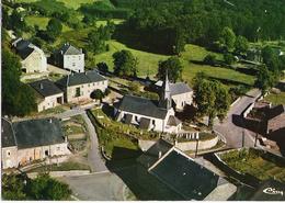OUR (Paliseul) - Vue Aérienne église Et Environs - Couleur  - Circulé Vers 1974  - Combier - Paliseul