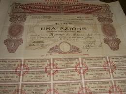 AZIONE CASSA NAZIONALE DELLE COMUNICAZIONI 1929 - Azioni & Titoli
