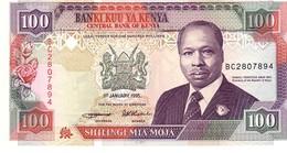 Kenya P.27 100 Shilings 1995 Unc - Kenia
