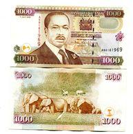 Kenya P.40  1000 Shilings 2002  Unc - Kenia