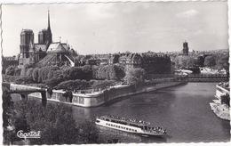 94 Paris - Notre-Dame Et Jardins De L'Archeveché - 'Galiote' Bateau D'excursion - Notre-Dame De Paris