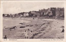 BRIGNONAN - Vue Générale Sur Les Villas De La Plage - Animé - Brignogan-Plage