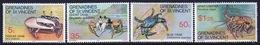 St.Vincent & Grenadines 1977 Set Of Stamps Commemorating Crustaceans. - St.Vincent & Grenadines