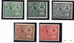 Serie Nº 70/4 Bahamas - 1859-1963 Colonia Británica