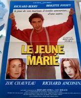 Aff Ciné Orig LE JEUNE MARIE (Prod Alain Delon) 1983 40X60 Richard Berry Brigitte Fossey Richard Anconina - Posters