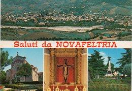 Rimini - Saluti Da Novafeltria - Fg Vg - Rimini