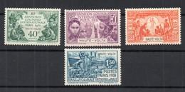 !!! PRIX FIXE : HAUTE VOLTA, SERIE EXPOSITION 1931 N°66/69 NEUVE ** - Obervolta (1920-1932)