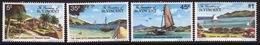 St.Vincent & Grenadines 1977 Set Of Stamps Commemorating Canouan Island. - St.Vincent & Grenadines