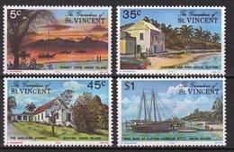 St.Vincent & Grenadines 1976 Set Of Stamps Commemorating Union Island. - St.Vincent & Grenadines