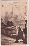 Paris - L'Ancetre Des Bouquinistes -  Notre-Dame - (1922) - Notre-Dame De Paris