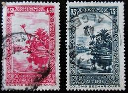 ALGERIE Yt  114, 140A. Colomb Bechar-Oued - Oblitérés