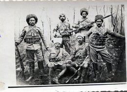 Rare Photo De Soldats Tatare En 14-18 - Guerra, Militari
