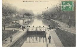 47-MAS-D'AGENAIS-Le Canal Latéral...1908  Animé - France