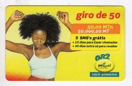MOZAMBIQUE RECHARGE MCEL 50 000 Mt Année 2009 - Mozambique