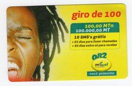 MOZAMBIQUE RECHARGE MCEL 100 000 Mt Année 2009 - Mozambique