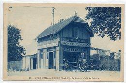 91  VIGNEUX Sur SEINE      Le Tabac -  Café De La Gare - Vigneux Sur Seine