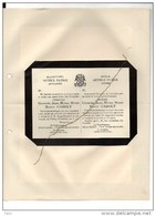 Jonkheer Georges Caroly Maatschappij Artibus Patria Antwerpen Fester Havenith Gyselinck+ Bouchout 11/10/1935 De Vigneron - Décès