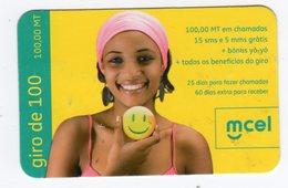 MOZAMBIQUE RECHARGE MCEL Année 2010 - Mozambique