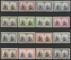 Espagne 1928 Série Catacombes Santiago   Y&T N° 353-366 *  Ou Scott B74-B89 * - 1889-1931 Royaume: Alphonse XIII