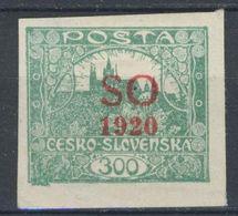 * Tchécoslovaquie-Silesie Orientale 1920 Mi 22 A (Yv 15), (MH) Trace De Charniere - Czechoslovakia
