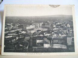 1943 - Rimini - S. Arcangelo Di Romagna - Panorama - Cartolina Storica D'epoca - Ed. B. Franceschi - Rimini