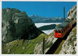 SCHWEIZ-SUISSE      TRAIN -ZUG- TREIN -TRENI-  GARE  BAHNHOF-STATION-STAZIONE   2  SCAN     (NUOVA) - Trains