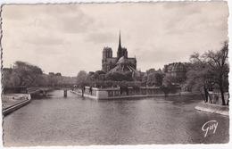 Paris - L'ile De La Cité, Vue D'amont - Notre-Dame - Notre-Dame De Paris