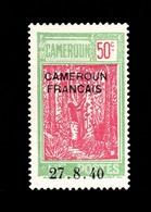 Cameroun 1940: N° 160** (YT202) Gomme Tropicale / Centrage Correct / TB - Kameroen (1915-1959)
