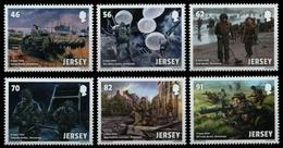 Jersey 2014 - Mi-Nr. 1810-1815 ** - MNH - Normandie - Jersey