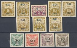 * Tchécoslovaquie-Silesie Orientale 1920 Mi P 1 Ex (Yv TT 1 Ex), (MH) - Czechoslovakia