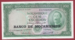 Mozambique 100 Escudos Du 27/03/1961 Dans L 'état - Mozambique
