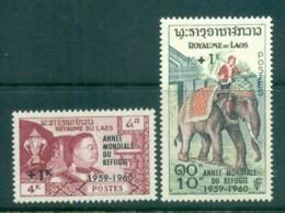 Laos 1960 World Refugee Year Opt. MUH Lot82886 - Laos
