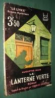 Coll. Le LYNX N°3 : La LANTERNE VERTE //Augustus MUIR - Fascicule Tallandier - Couv. Ill. M. Toussaint - Livres, BD, Revues