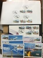 FDC & Maxicards Of Viet Nam Vietnam Issued On 1st Of July 2019 : Vietnamese Bridge / Bridges - Sent By FDC - Vietnam