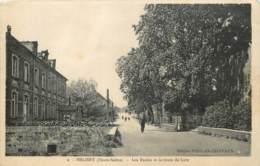 70 - MELISEY - Les Ecoles Et Route De Lure - Autres Communes
