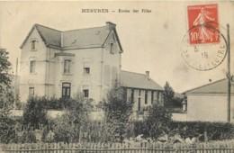 71 - MESVRES - Ecole Des Filles En 1918 - Altri Comuni