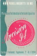 FINLAND - Precision 94 I, Turun Puhelin Telecard, Tirage 13500, Exp.date 12/95, Used - Finland