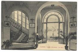 65-TARBES-Hôtel MODERNE - Le Hall... 1912 - Tarbes