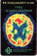 FINLAND - Turku University Hospital, Turun Puhelin Telecard, Tirage 12500, Exp.date 12/96, Used - Finland