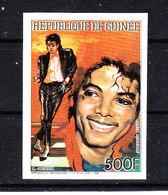Guinea  - 1986. Michael Jackson.  Imperf. MNH - Musica
