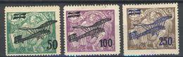 * Tchécoslovaquie 1922 Mi 199-201 (Yv PA 7-9), (MH) Pd - Czechoslovakia