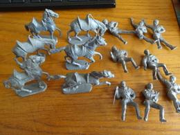 Lots 6 Chevaux+8 Cavalier Marque; Cafes Mc-caiffa  1964 - Militaires
