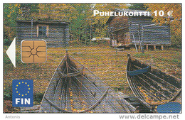 FINLAND - Kalapirtit, Fin Telecard 10 Euro, Tirage 10000, 09/02, Used - Landschappen
