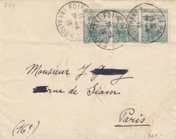 FRANCE - LETTRE CACHET COMMÉMORATIF 28.4.19 FOIRE DE PARIS INVALIDES - Yv N°149 /1 - Commemorative Postmarks