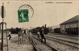 CPA CLAMECY La Gare Des Marchandises (860590) - Clamecy