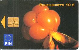 FINLAND - Flower, Fin Telecard 10 Euro, Tirage 10000, 10/03, Used - Finland