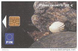 FINLAND - Sea Shell, Fin Telecard 20 Euro, Tirage 10000, 10/03, Used - Fish