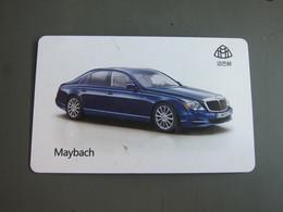 Unkonw Uses Card, Maybach Car - Sonstige