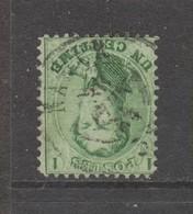 COB 13 Oblitération Centrale Double Cercle NAMUR Superbe - 1863-1864 Medallions (13/16)