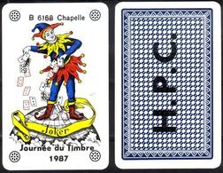 Joker  émission Privée - Journée Du Timbre 1987 - Kartenspiele (traditionell)